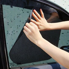 2pcs Auto PVC Frontfenster Sonnenschutz Windschutzscheibe Sonnenschirm 63 * 42cm