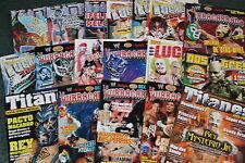 4.-SET 18 WRESTLING MAGAZINES revistas LUCHA LIBRE MEXICO mexican COLLECTION
