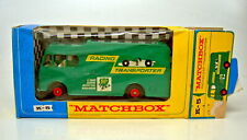 Matchbox Kingsize K-5B Racing Car Transporter grün in Box