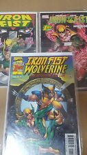 Avengers Comic lot IRON FIST mini series 1-3 1-4 wolverine breathless 1-5 nm bag