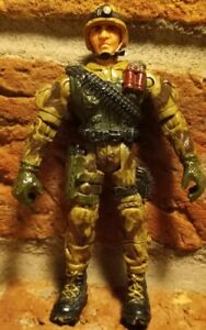 "Gunner O Grady 2003 Lanard The Corps Terra Team Military Action Figure 4"" gi joe"