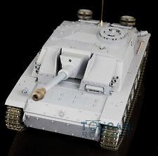 2.4Ghz HengLong 1/16 Scale German Stug III RTR RC Tank Model Plastic Ver 3868