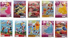 LARGE DISNEY WALL STICKERS CHILDRENS BEDROOM FURNITURE DECORATING KITS BOY GIRL