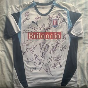 Stoke City Shirt SIGNED by 2006-07 Squad