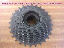 7 SPEED FREEWHEEL SCREW ON CASSETTE  INDEX 14/28 TEETH COG MTB or RACER