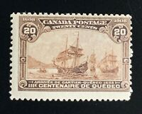 Canada Stamps. SC 103. 1908. MH. **COMBINED SHIPPING**