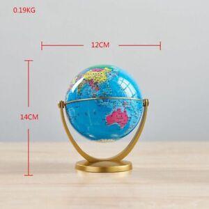 World Map Globe Retro Desk Geography Kids Education Home Decoration Accessories