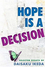 Ikeda Daisaku/ Wider Sarah ...-Hope Is A Decision (Importación USA) BOOK NUEVO
