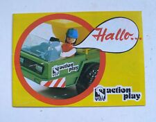 Vintage MS TOY Action Play Playmobil 1970's Catalog Catalogue Katalog 20 page
