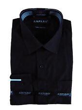 White, Black Long Sleeve Office Work Business Mens Shirt XS S M L XL XXL XXXL