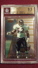 Ray Lewis 1996 Bowman's Best Rookie Card RC BGS 9.5 Gem Mt