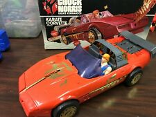 Chuck Norris Karate Kommandos Karate Corvette With Original Box Kenner 2 Figures