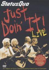 "STATUS QUO ""JUST DOIN IT LIVE"" DVD NEUWARE"