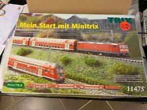ge/ri19# Aus Nachlass: Minitrix Startpackung Zugset  Spur N 11475