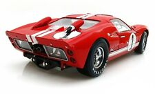 1966 FORD GT-40 MK II #1 RED 1/18 DIECAST MODEL CAR SHELBY COLLECTIBLES SC407