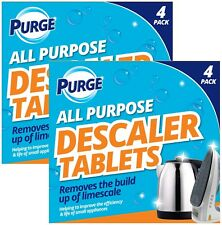 8 Descaler Descaling Cleaning Tablets Limescale Remover Kettle Coffee Machines