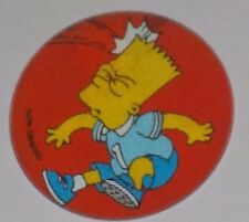 The Simpsons Magic Motion Tazo #167 Bart Simpson - playing soccer