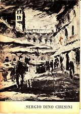Sergio Dino Chesini Hammer Galleries NYC NY Vintage Brochure 1960s?