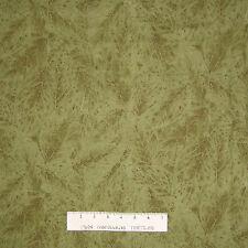 Riverwoods Fabric - Tonal Sage Green Leaves - Lone Prairie Cotton YARD