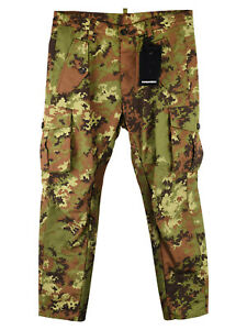 DSquared2 Camou Cropped Trousers