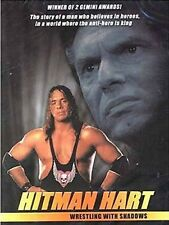 Bret The Hitman Hart Wrestling with Shadows DVD WWE WCW WWF