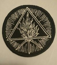 BEHEMOTH Patch Embroidered Iron/sew-on Sigil FUROR DIVINUS