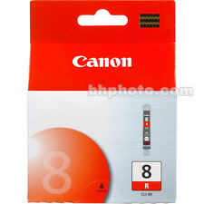 Genuine Canon CLI-8R ROSSO Cartuccia di inchiostro pixra rp970 rx850