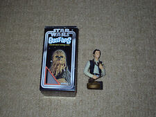 GENTLE GIANT, HAN SOLO, 2004 SERIES 1, STAR WARS BUST-UPS, WITH BOX