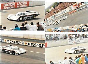 ROTHMANS PORSCHE 962 GROUP C LE MANS 24 1987 13 PERIOD PHOTOGRAPH DEREK BELL
