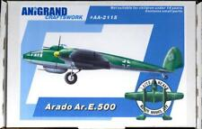 Anigrand Models 1/72 ARADO Ar.E.500 German Fighter Bomber Project