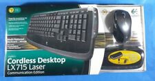 Logitech Cordless Desktop LX715 Laser Communication Edition Speakerphone Headset