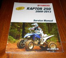 YAMAHA RAPTOR 250 OEM REPAIR,SERVICE MANUAL BOOK 2008-2013