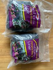Hanging Basket Liner Wool & Moss doff Easy To Use ,