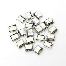 40 Pcs New Mini Micro USB Type B Female 5 Pin SMT SMD DIP Socket Connector Port