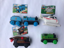 Lot Wooden Thomas The Train: Harvey, Edward, Percy, Harold, Rusty