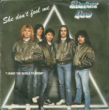 """Status Quo - She don't fool me (7"""") 1982 France"""