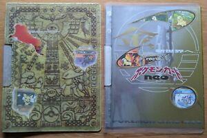 Pokémon Cards Japanese Neo 2 Genesis discovery Premium Folder sets 1 & 2 mint