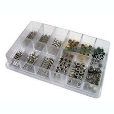 144 Pcs Watch Stem + Watch Crown parts Box Set for Ladies and Quartz watches