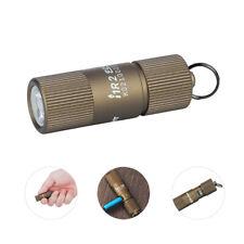 OLIGHT I1R 2 Eos Desert Tan 150 Lumen Micro-USB Rechargeable Tiny Keychain Light