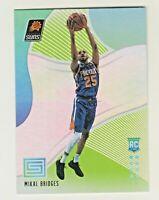 2018-19 Panini Status GREEN PARALLEL #144 MIKAL BRIDGES RC Rookie Phoenix Suns