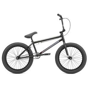 """2022 Kink Whip 20"""" BMX Bike Gloss Black Fade - We Ship Same Day!!!!"""