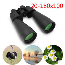 HD Zoom Optical Binocular 20-180x100 High Resolution Day Night Vision Telescopes