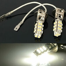 2x H3 28-LED White Fog Lights DRL Driving Light Bulbs 12V DC Car/Truck/Van/SUV