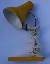 Lampe de bureau orange lampe de table Lumières De Travail Métal 60er années 70