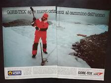 Pubblicita'Advertising Werbung Vintage GORE TEX/CIESSE PIUMINI 1985 no cd (A14)