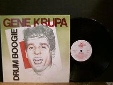 GENE KRUPA   Drum Boogie  LP    Beats    Lovely copy!