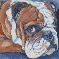 Cross Stitch Chart - Kit Bulldog 6