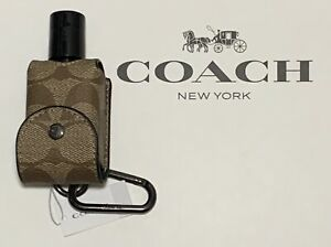 NEW Coach Container with Bottle Holder 5593 Signature Khaki