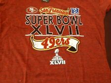 Super Bowl XLVII San Francisco 49ers Women's large new t shirt