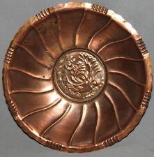 Vintage Hand Made Decorative Copper Bowl